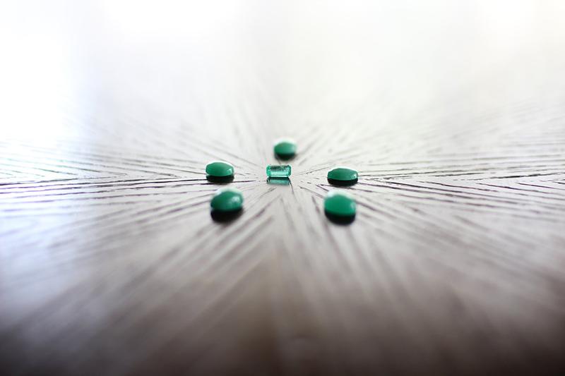 Heart Chosen Emeralds